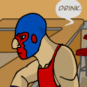 2. a Luchador Walks into a Bar thumbnail