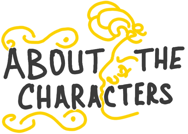 about the characters